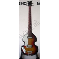 Miniatura kytary Music Legends PPT-MK027 Paul McCartney The Beatles Höfner Bass