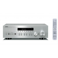 Receiver audio Yamaha R-N402D Silver